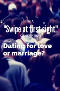Dating for love