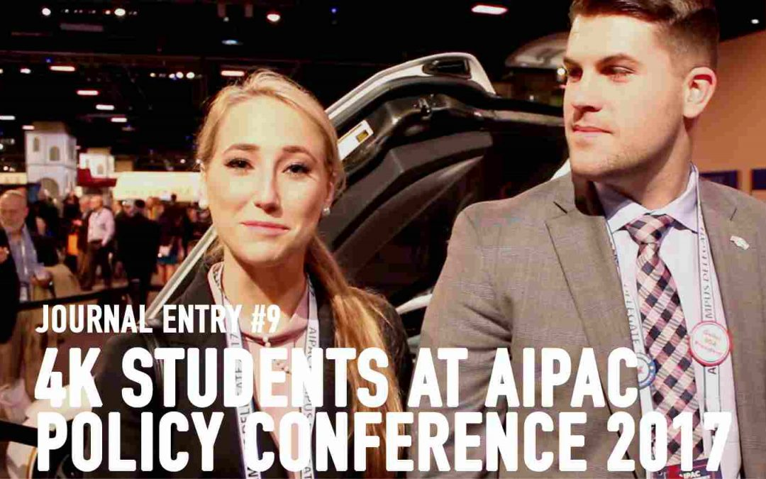 College Students at AIPAC Policy Conference