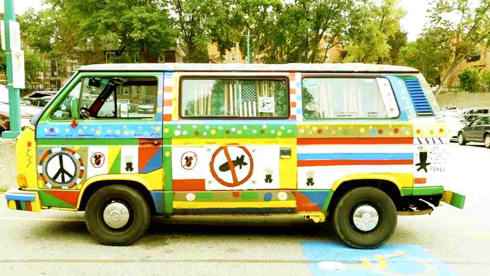 The Peace Mobile